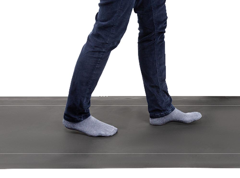 XSENSOR's Walkway Sensor capturing natural motion of a patient walking across.